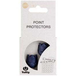 Tulip Point protectors large blue - 5pcs