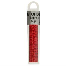 Toho Glass beads round 8-0 - 4g - 0045F