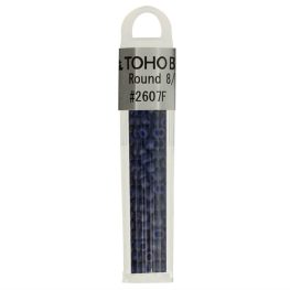 Toho Glass beads round 8-0 - 4g - 2607F