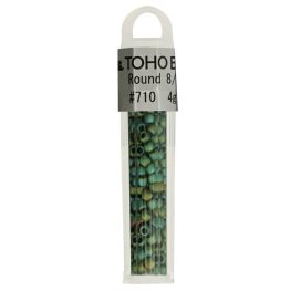 Toho Glass beads round 8-0 - 4g - 0710