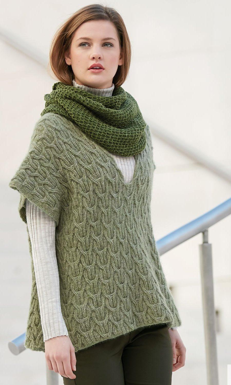pattern-knit-crochet-woman-poncho-autumn-winter-katia-6040-47-g