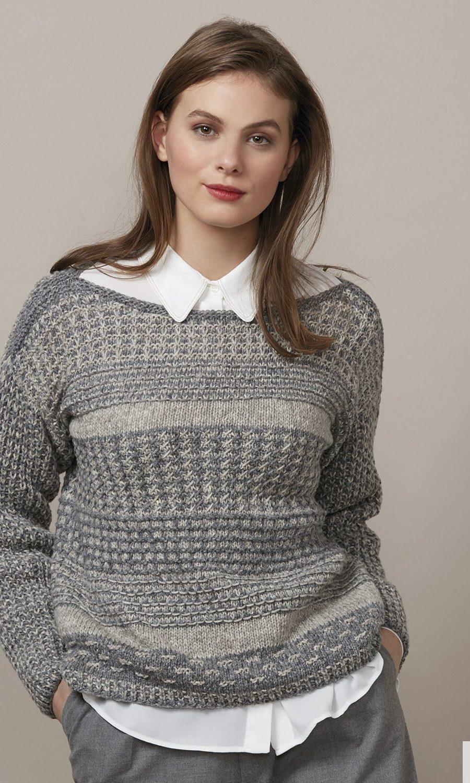 pattern-knit-crochet-woman-sweater-autumn-winter-katia-6136-27-g