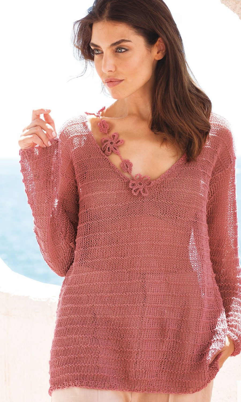 pattern-knit-crochet-woman-sweater-spring-summer-katia-6073-23-01-g