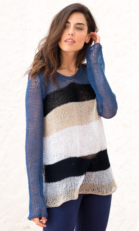 pattern-knit-crochet-woman-sweater-spring-summer-katia-6073-40-g
