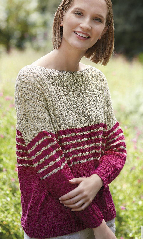 pattern-knit-crochet-woman-sweater-spring-summer-katia-6123-24-g